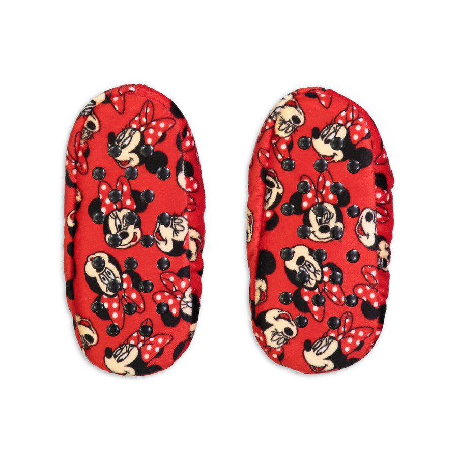 Infant/Toddler Minnie Mouse Print Slipper Sock