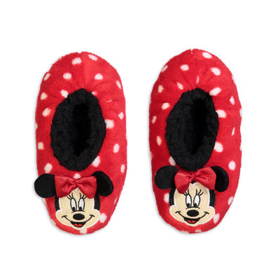 Girls Minnie Mouse Fuzzy Babba with 3D Ears - Fuzzy Babba