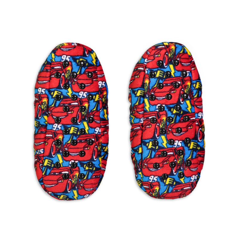 Kids Cars Lightning McQueen Print Slipper Sock