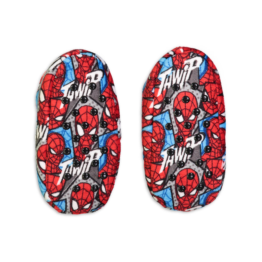 Infant/Toddler Marvel Spiderman Print Fuzzy Babba - Fuzzy Babba