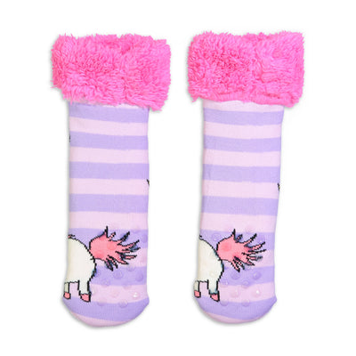 Kids Despicable Me FLUFFY! Cozy Slipper Sock - Fuzzy Babba