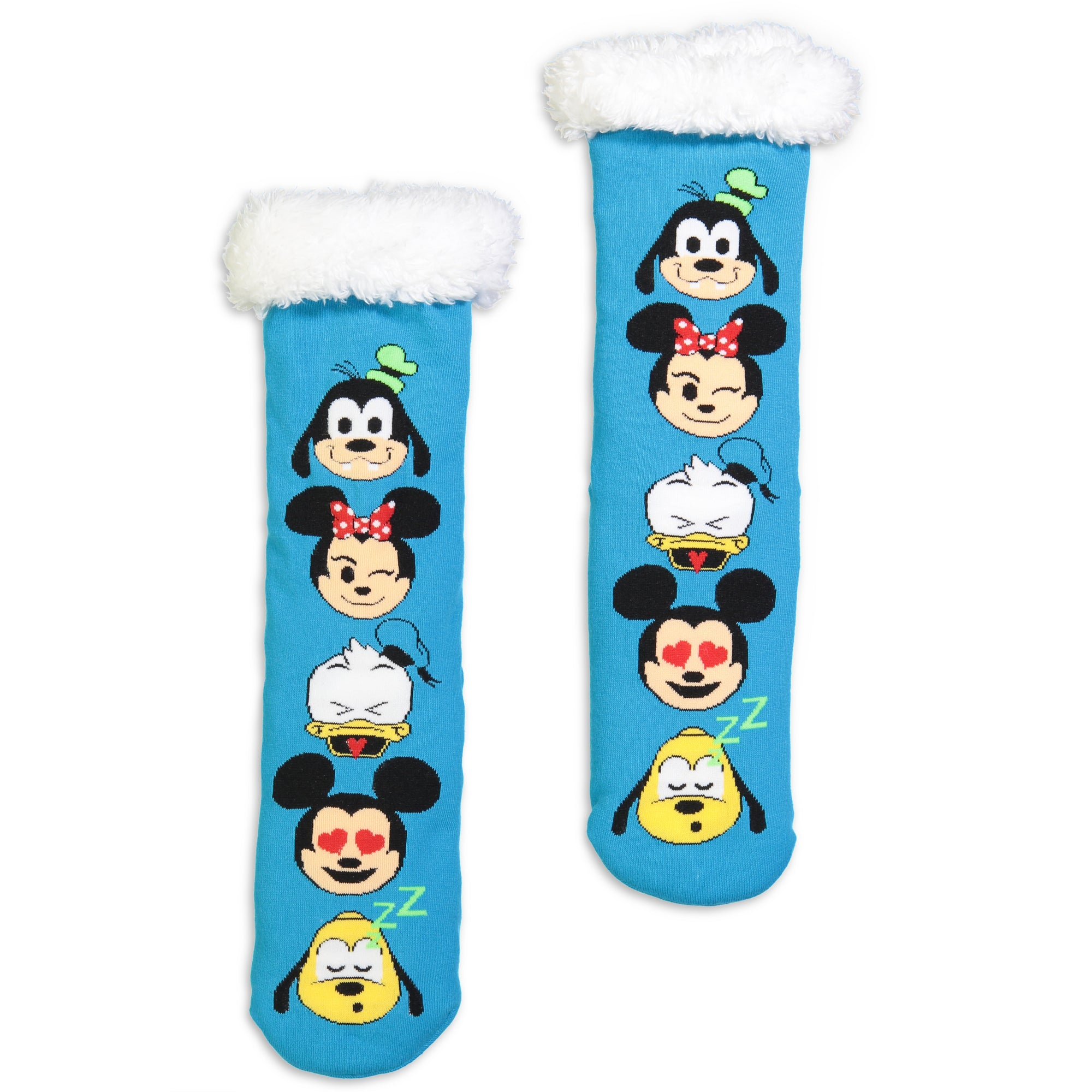 Women's Disney Emoji Slipper Sock