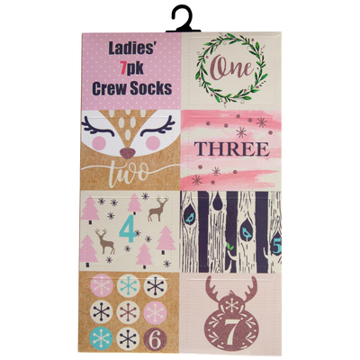 Women's 7 Days of Socks Advant box