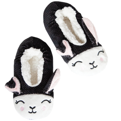 Women's Bunny Slipper Socks with Floppy Ears