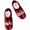 Family Bear Holiday Slipper Socks