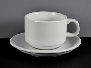 #10514 CUP & SAUCER (7 OZ.) STACKABLE
