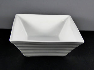 "#12073 BOWL 8"" SQUARE PATTERN (56 OZ.)"