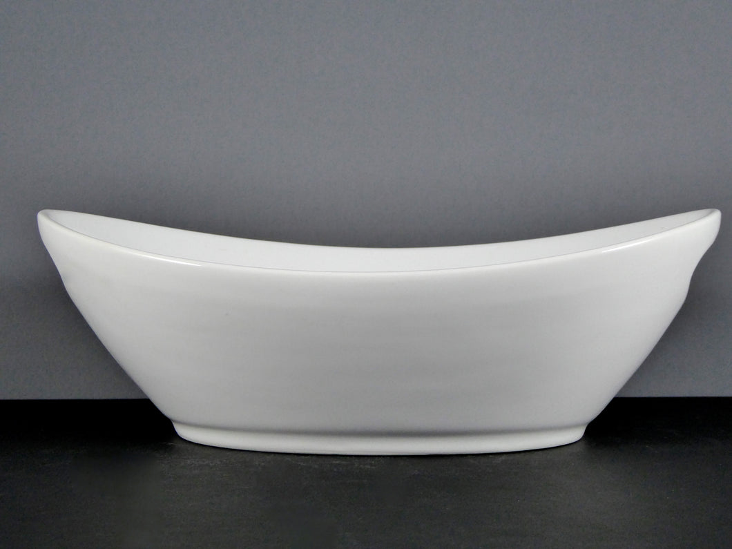#13052 BOWL 10 X 6 OVAL W HANDLES (36 OZ.)