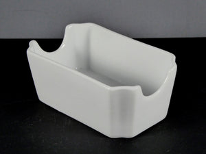 "#13115 DISH 4.75"" X 2.75"" RECTANGLE SUGAR CADDY"