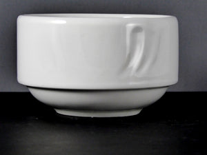 "#13116 BOWL 4"" ROUND STACKABLE (8 OZ.)"