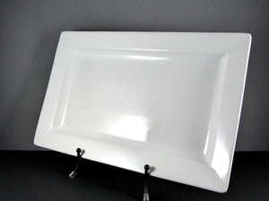 "#13134 PLATTER 19"" X 12"" RECTANGLE WIDE RIM"