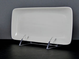 "#13194 PLATTER 8.25"" X 3.75"" RECTANGLE NO RIM"