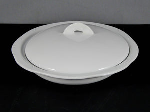 "#13217 BOWL 6"" ROUND W/ LID (8 OZ.)"
