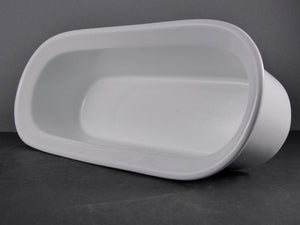 "#14173 BOWL 13.75"" X 5.5"" X 3.75"" DEEP OVAL (60 OZ.)"