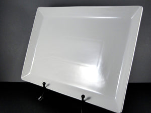 "#14181 PLATTER 17.5"" X 12"" X 1.5"" DEEP RECTANGLE"