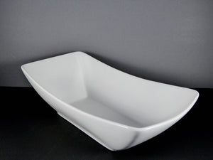 "#14210 BOWL 15.25"" X 7.5"" RECTANGLE CURVED RIM (96 OZ.)"