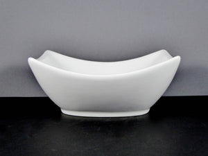 "#14225 BOWL 7"" X 6.25"" RECTANGLE CURVED RIM (20 OZ.)"
