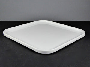 "#15093 PLATE 10.25"" SQUARE ROUNDED"