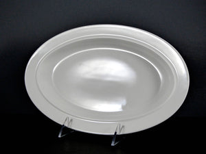 "#15212 PLATE 12"" X 7.5"" OVAL DOUBLE RIM"