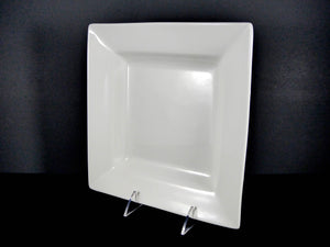 "#16049 PLATE 10"" SQUARE  WIDE RIM DEEP"