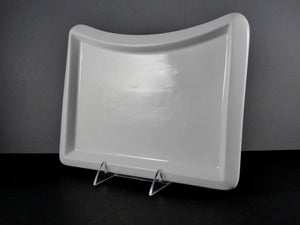 "#3683 PLATTER 12"" X 8"" RECTANGLE CURVED SIDE"