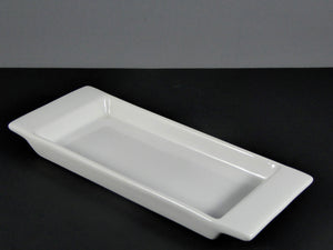 "#5615 PLATTER 8.5"" X 3.5"" RECTANGLE DEEP HANDLES"