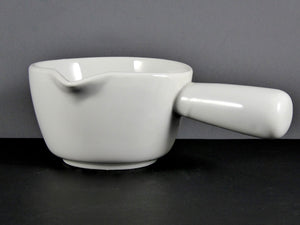 "#6540 MILK POT 7"" W/HANDLE (8 OZ.)"