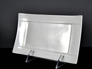 "#7554-1 PLATTER 8"" x 4.75 RECTANGLE"