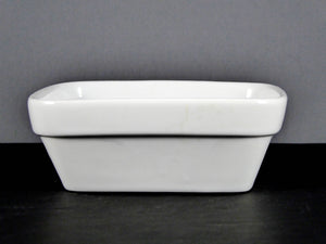 "#7682 BOWL 4.75"" X 1.75"" DEEP SQUARE STACKABLE  (8 OZ.)"