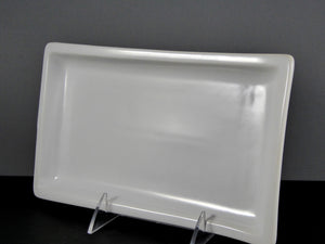 "#7699-1 PLATTER 9.75"" X 5.75"" RECTANGLE WAVE"