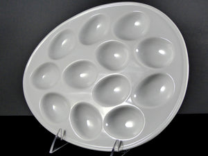 "#9531 DISH 11"" OVAL 12-PIECE EGG HOLDER"