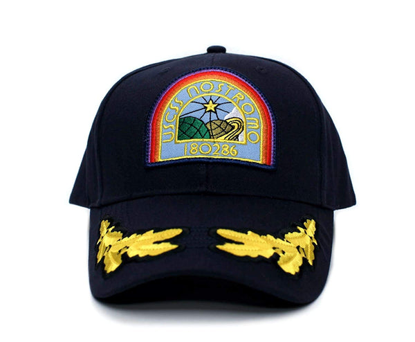 NOSTROMO Alien USCSS Movie Hat Appliqué Patch Cap Navy
