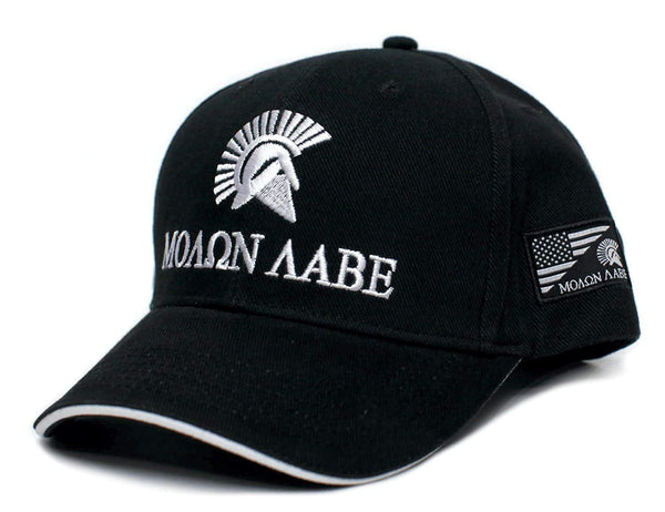 Molon Labe Come And Take It Embroidered Adult One-Size Baseball Hat Cap