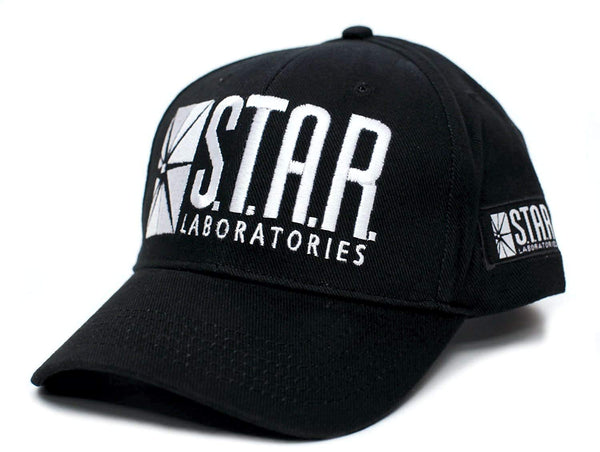 Star Labs Laboratories Embroidered Hat Cap S.T.A.R. Unisex Adult Comic Black
