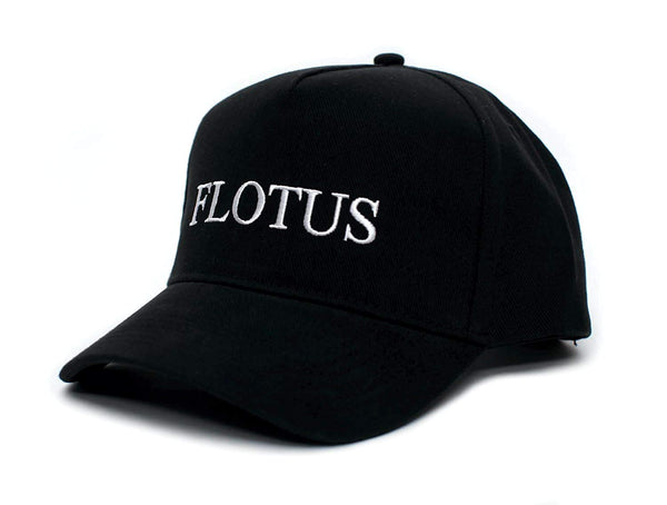 Back To Back World War Champs FLOTUS Embroidered Melania Trump One Size Unisex Baseball Cap Hat (Black)