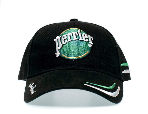 Perrier Hat Jean Girard Cap #55 Talladega Nights One-Size Unisex Cap Black