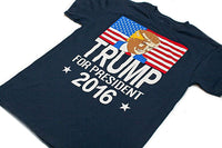 Donald Trump For President 2016 Election Republican Political Navy Men's S-3XL