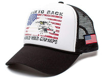 Back To Back World War Champs Eagle Unisex-Adult Trucker Hat -One-Size