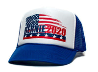 Bernie Sanders President 2020 Truckers Hat Cap Feel The Bern Burn Multi