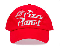 Pizza Planet Embroidered Dad Hat Unstructured Cap Adult One-Size Red