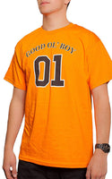 "General Lee Good Ol' Boy 01"" Dukes of Hazzard Men's Orange T Shirt"