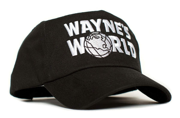 Wayne's World Movie Logo Embroidered Costume Hat