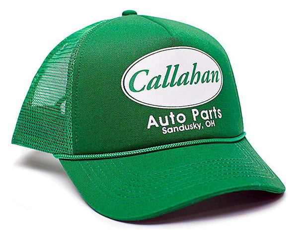 Callahan Auto Parts Sandusky Ohio Adult One-size Unisex Hat Cap Truckers Green