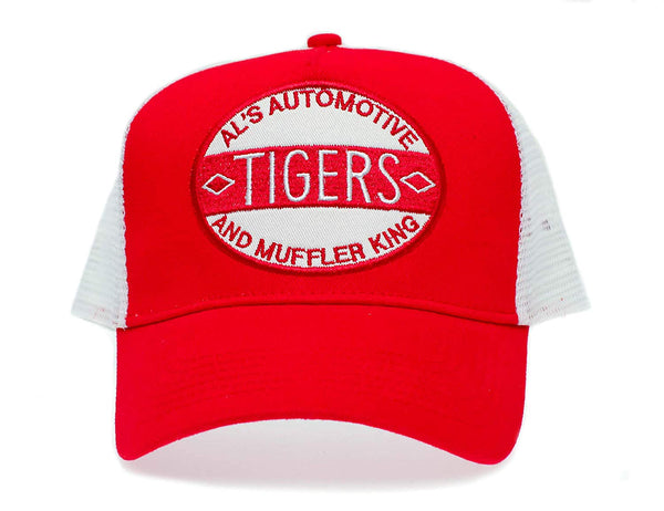 Magnum PI AL's Automotive Tigers Hat Embroidered Patch Cap Cosplay