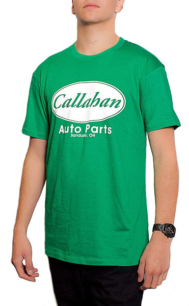 Callahan Auto Parts Sandusky Ohio Men's T-shirt Kelly Green