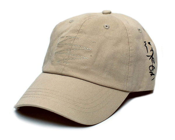 MR. Robot Hat Stitched Movie Cap Unisex Adjustable Khaki Costume