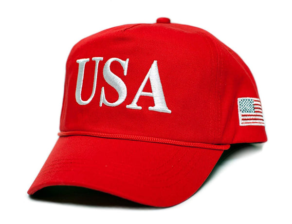 Back To Back World War Champs USA 45 Trump Make America Great Again Embroidered hat One Size Adult Red, White Cap