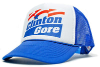 Clinton Gore Unisex-Adult Trucker Hat -One-Size Curved Bill Truckers