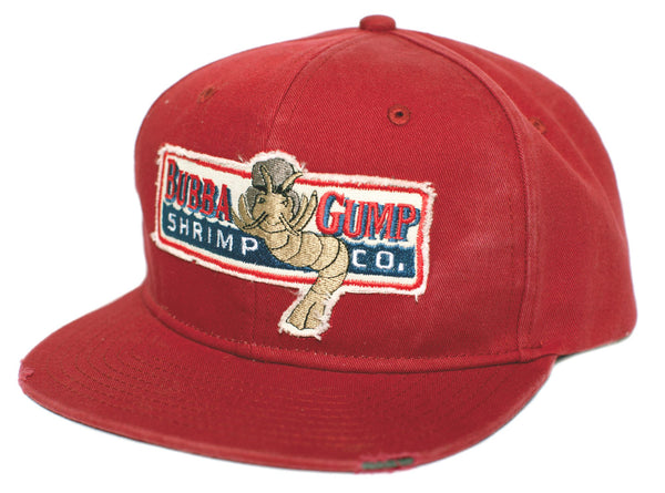 Bubba Gump Shrimp CO Embroidered Distressed Hat Forrest Baseball Cap