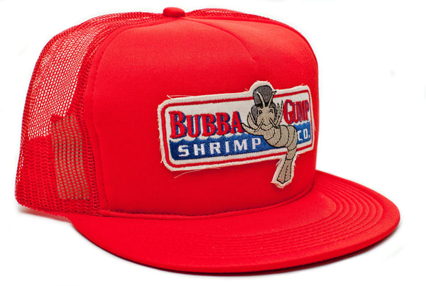 Bubba Gump Forrest Red Foam patch hat cap
